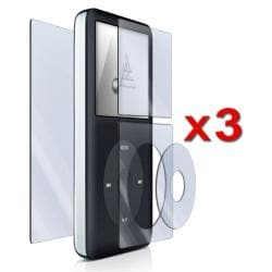 BasAcc LCD Screen Protectors for Apple iPod Classic (Pack of 3)