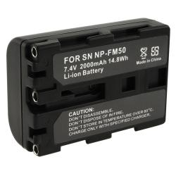 BasAcc Sony NP-FM50 NP-FM30 Compatible Battery