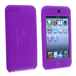 BasAcc Premium Silicone Skin Case for Apple iPod Touch, Purple