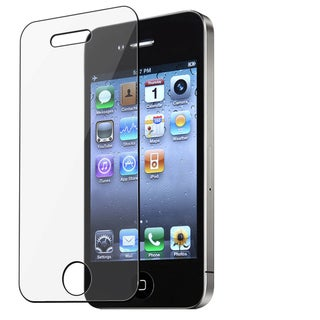 Transparent BasAcc Apple iPhone 4 Screen Protector (Pack of Three)