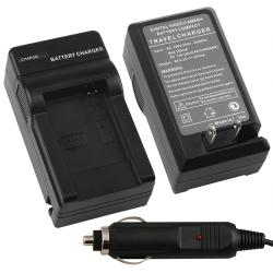 BasAcc Compact Battery Charger Set for Samsung BP-70A