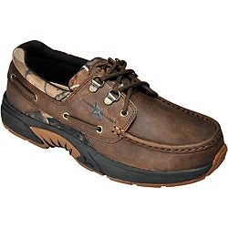 Rugged Shark Men's 'Atlantic' Leather Oxfords