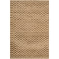 Hand-woven Beige Einstein New Zealand Wool Soft Braided Texture Rug (8' x 10')
