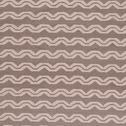 Hand-woven Tan Wool Sheng Rug (8' x 11')
