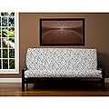 Spotted Black and White 7-inch Deep Full-size Futon Cover