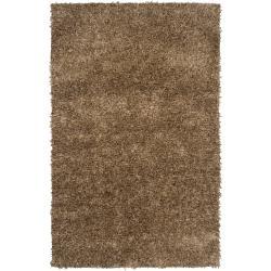 Candice Olson Hand-woven Brown Polyester Banki Rug (3'6 x 5'6)