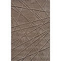 Hand-tufted Shimmer Grey Rug (2' x 3')