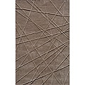 Hand-tufted Shimmer Grey Rug (5' x 8')