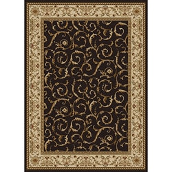 "Amalfi Scroll Olefin Area Rug (5'5"" x 7'7"")"