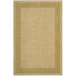 Nourison Grand Textures Beige Wool Rug (5'6 x 7'5)