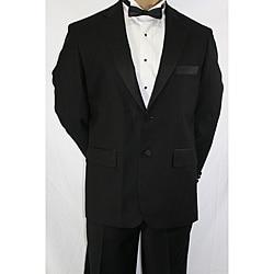 Ferrecci Men's Black Classic Tuxedo