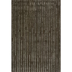 Hand-Tufted Shimmer Charcoal Rug (5' x 8')