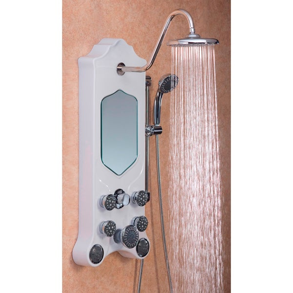 Jet-Pro Imperial Stainless-Steel Shower Spa With Eight Jets and Two Shower Heads