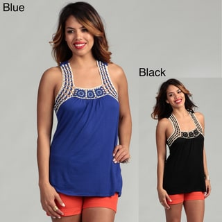 Rain Women's Crochet Tank Top