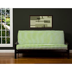 Block Island Green 7-inch Full-size Futon Cover