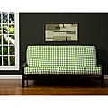 Block Island Green 6-inch Full-size Futon Cover