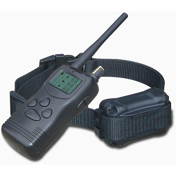 Merske 1,000-yard Pet Trainer 2-dog Remote Training System