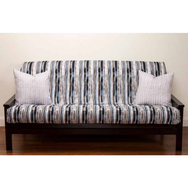 Download Stripe 7-inch Deep Full-size Futon Cover