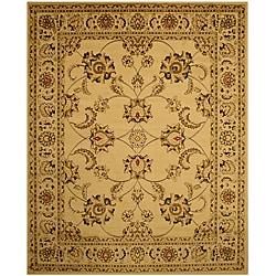 EORC Ivory Antep Agra Rug (5'3 x 7'3)