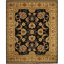 Antep Black Agra Rug (8'2 x 9'10)