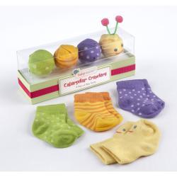 Baby Aspen Caterpillar Crawlers Baby Socks Gift Set