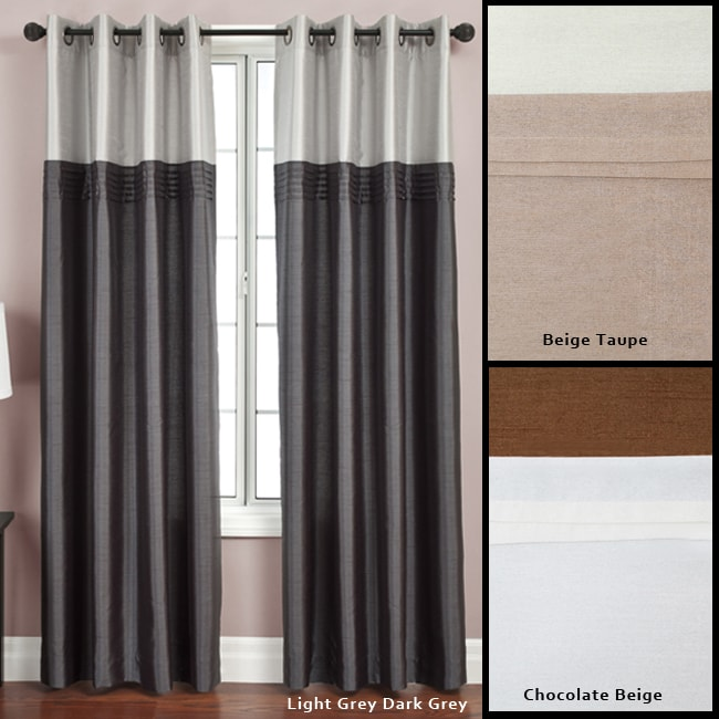 Flight Lined Grommet Top 95-inch Curtain Panel