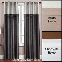Flight Lined Grommet Top 84-inch Curtain Panel