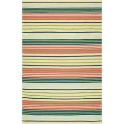 Country Living Hand-woven Green Baloo Wool Rug (8' x 11')