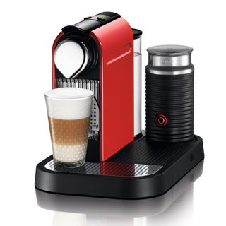 Nespresso Red CitiZ & Milk Espresso Machine (Refurbished)