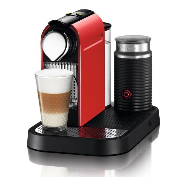 Nespresso Red CitiZ & Milk Espresso Machine (Refurbished)