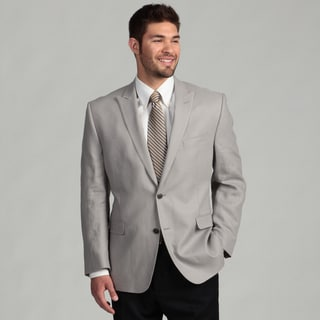 Calvin Klein Men's Grey Linen Sports Coat