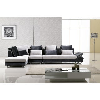 Furniture of America Shelton 3-piece Sectional and Chaise Set