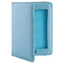 Amazon Kindle Touch Blue Faux-leather Case with Auto-secure Front