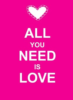 All You Need Is Love (Hardcover)