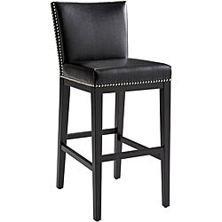 Sunpan Bonded Leather Vintage Barstool