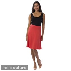 A to Z Women's Classic A-line Skirt
