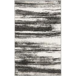 Safavieh Deco Inspired Dark Grey/ Light Grey Rug (4' x 6')