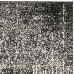 Safavieh Deco Inspired Black/ Grey Rug (4' x 6')