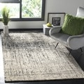 Safavieh Deco Inspired Black/ Grey Rug (5' x 8')