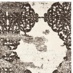 Safavieh Deco Inspired Beige/ Light Gray Polypropylene Rug (5' x 8')