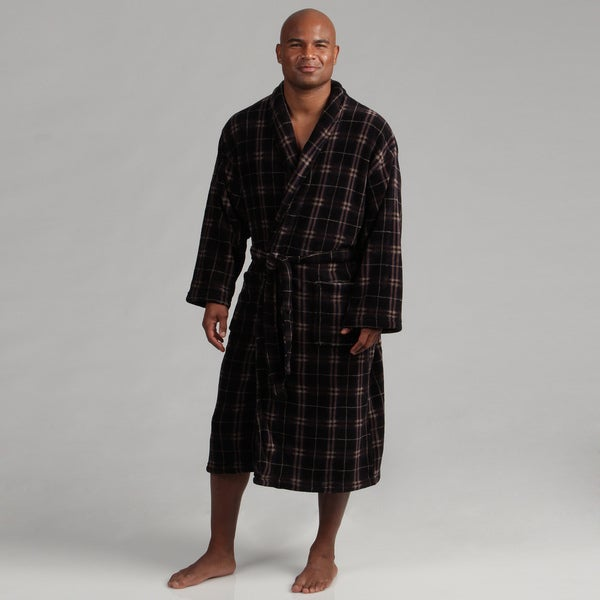 Majestic Men's Fleece Shawl Collar Robe FINAL SALE