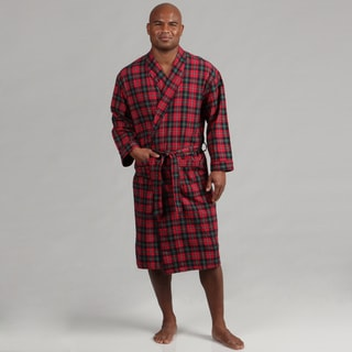 Majestic Men's Flannel Shawl Robe FINAL SALE