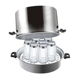 Cook N Home 7-quart Steam Canner with Rack
