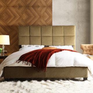 Sarajevo Brown Sugar Corduroy Queen-size Bed