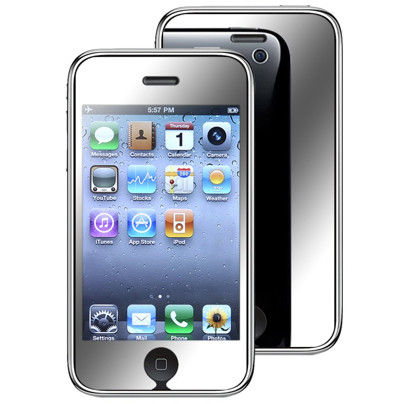 INSTEN Mirror Screen Protector for Apple iPhone 3G/ 3GS