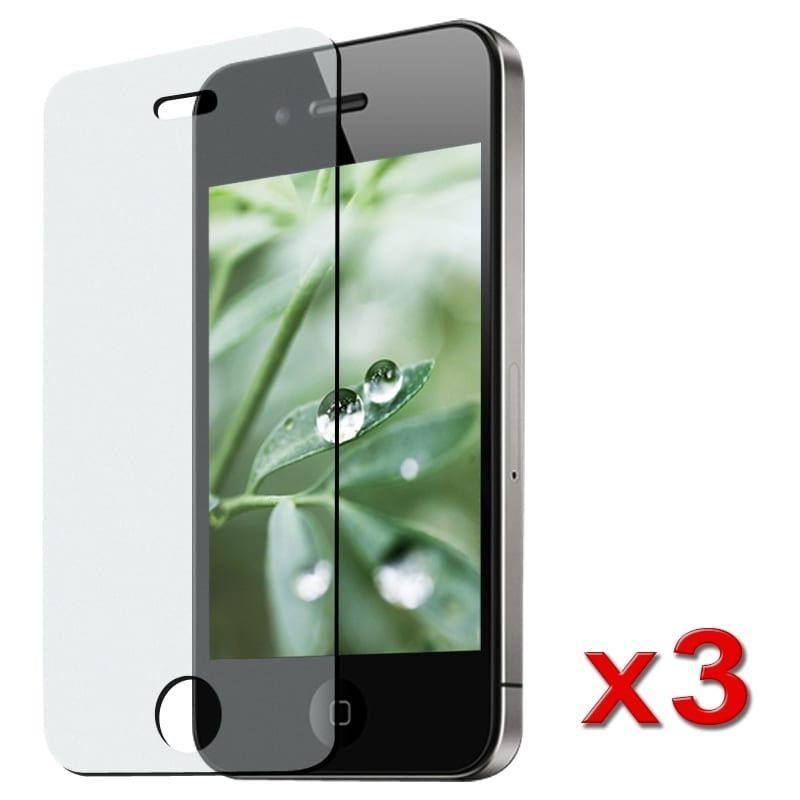 INSTEN Anti-glare Screen Protector for Apple iPhone 4 (Pack of 3)