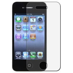 BasAcc Anti-glare Screen Protector for Apple iPhone 4 (Pack of 3)