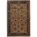 Hand-tufted Tempest Brown Area Rug (5 x 8)