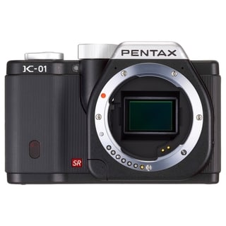 Pentax k-01 16.3 Megapixel Mirrorless Camera (Body Only) - Black