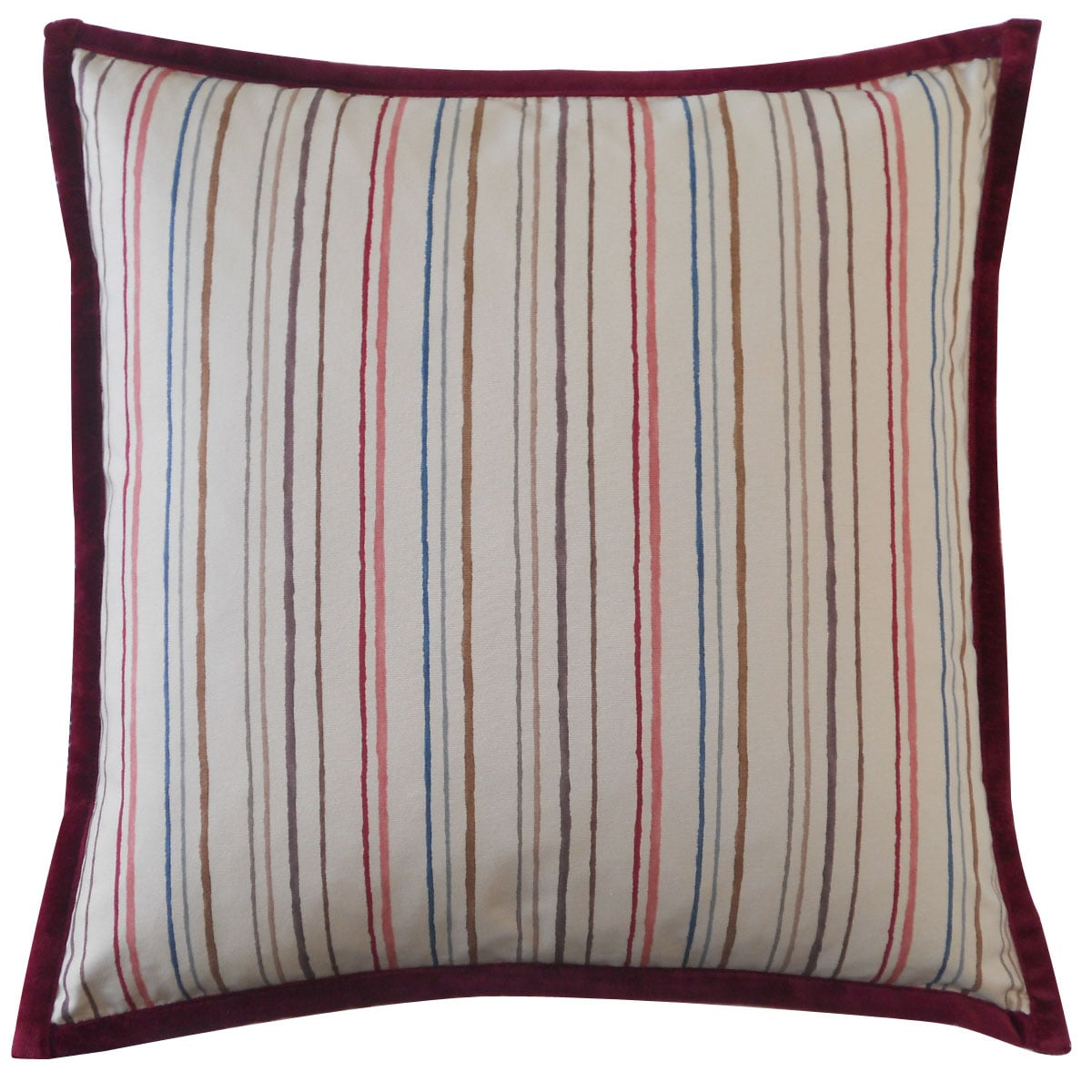 Jiti Alita Stripes Down Throw Pillow